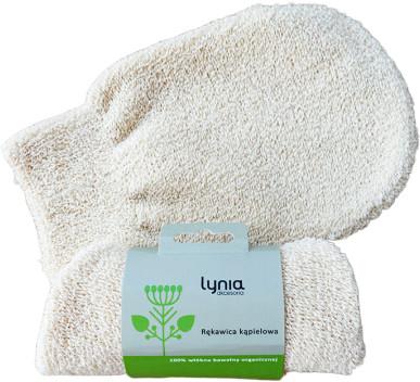 Lynia LYNIA Rękawica kąpielowa 100% bawełny 49610-uniw