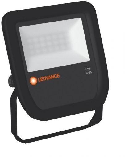 Ledvance NAŚWIETLACZ FLOOD LED 10W/4000K BK 100DEG IP65 LEDV