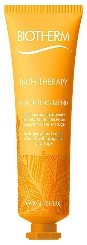 Biotherm Bath Therapy Delighting Blend Hydrating Hand Creme Grapefruit & Sage 30ml