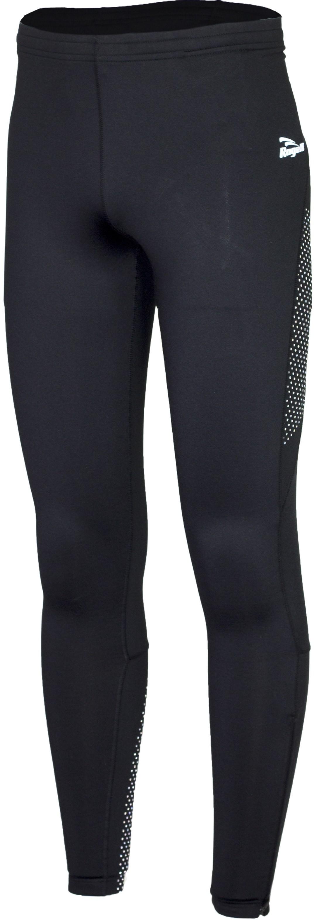 Rogelli 800.006 BAXTER męskie ocieplane spodnie do biegania odblaski