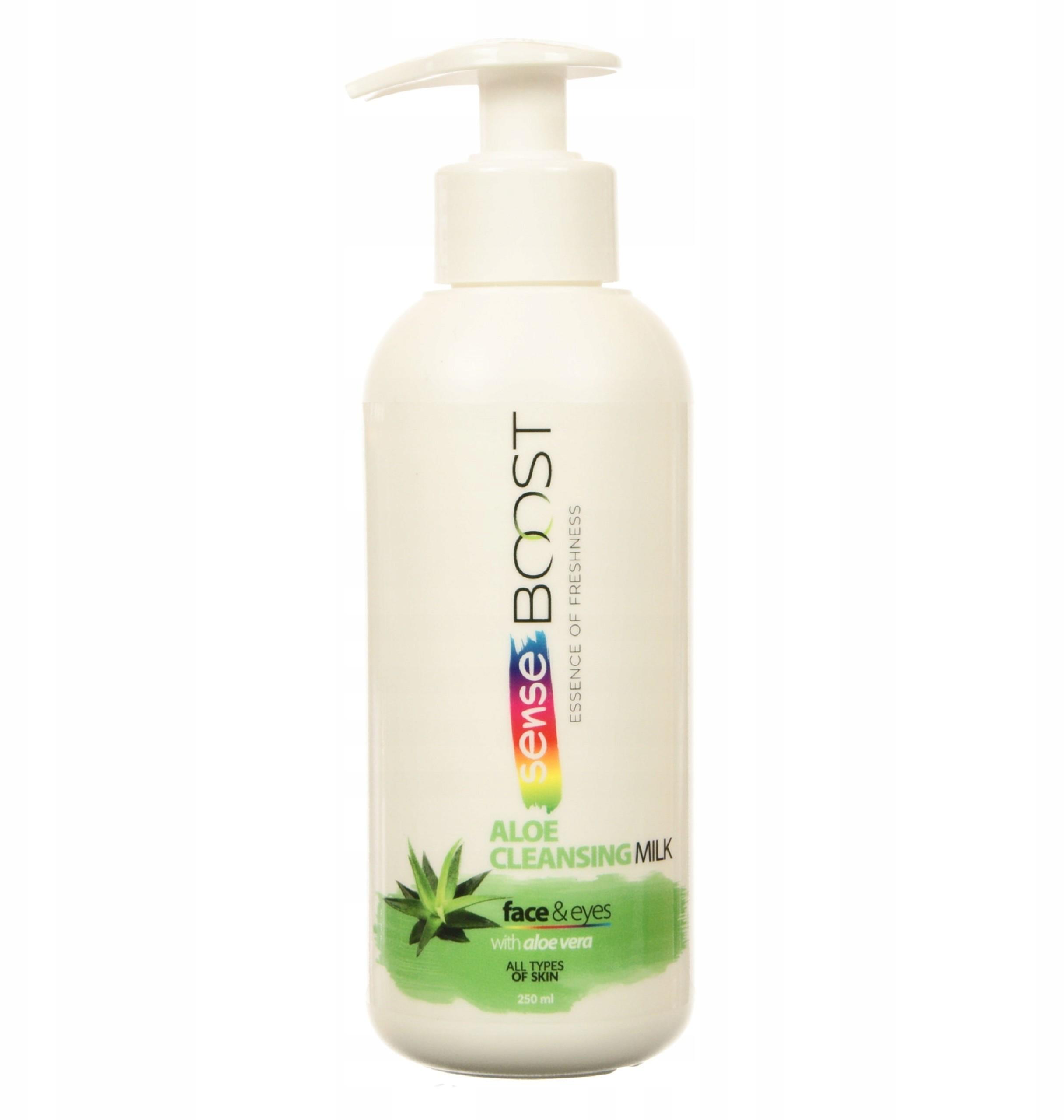 SenseBoost Aloe mleczko oczyszczające 250 Przecena
