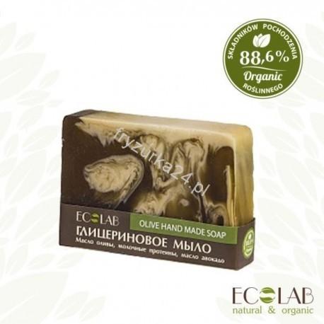 EO LABORATORIE  Naturalne mydło glicerynowe - ręcznie robione - oliwkowe EC18