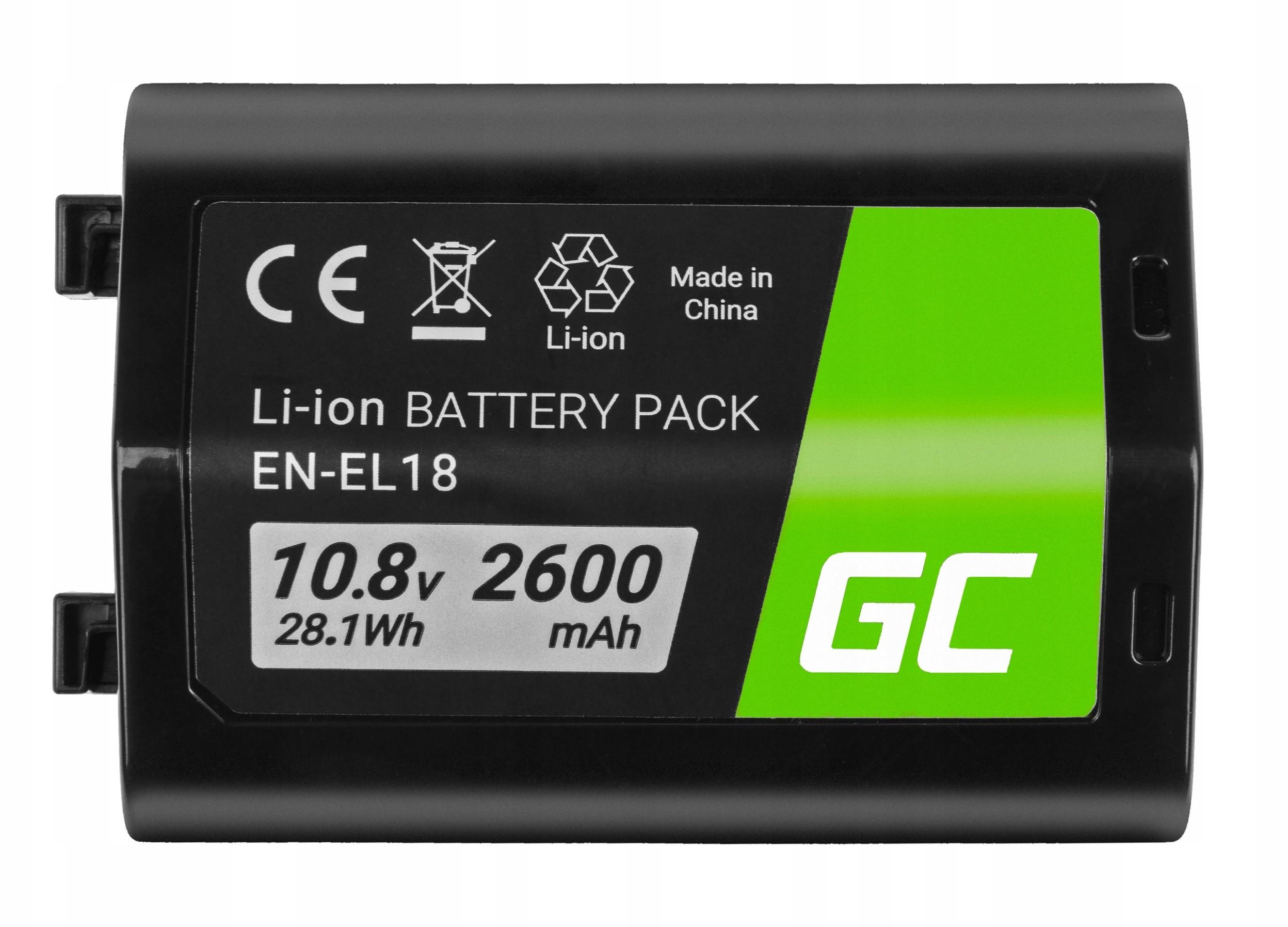 Cameron Sino NIKON Bateria do aparatu D4 D4S D5 10.8V 2600mAh