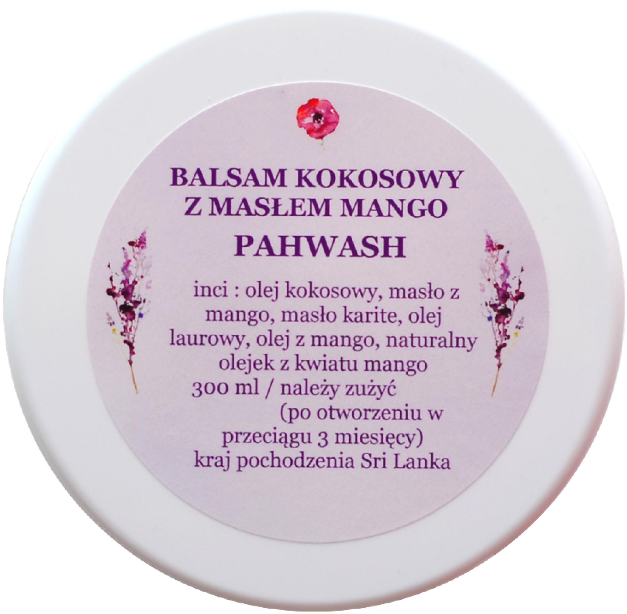 Mango Balsam kokosowy Pahwash z masłem 300ml