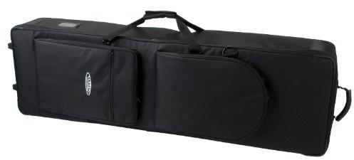 Classic Cantabile Classic cantabile torba na syntezator z rolki (wytrzymały gigbag, wymiary wewnętrzne, 115x 45x 15cm, podwójnie gesponnenes i verwebtes tkanina nylonowa, verklettbarer uchwyt do noszenia, 2duże kie 00023061