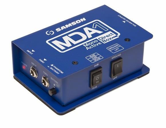 Samson MDA1 - Mono Active Direct Box 32914