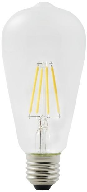 Diall Żarówka LED ST64 E27 4 W 470 lm przezroczysta barwa ciepła TS62111