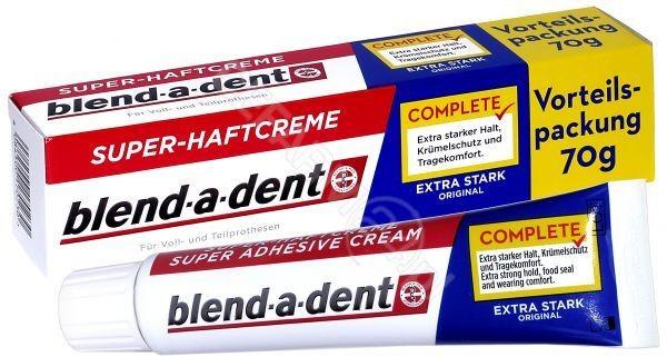 PROCTER & GA Blend-a-dent original klej do protez 70 g + szczoteczka do czyszczenia protez GRATIS !