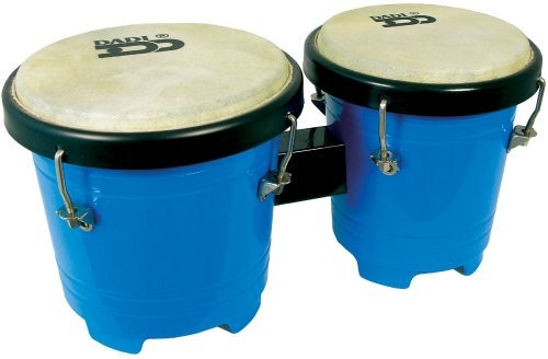 Dadi Atlas Fun Size Bongos, niebieski BG-5575BL