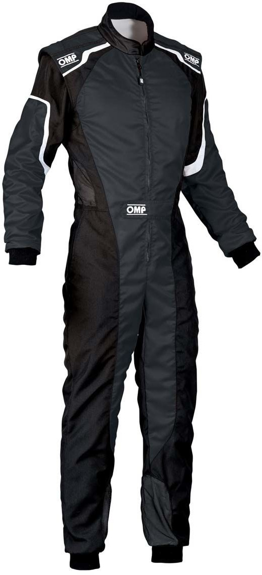 OMP Racing Kombinezon dziecięcy KS-3 MY19 czarny (Homologacja CIK FIA) KK01727C071120