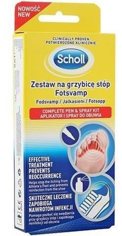 Scholl Zestaw na grzybicę stóp 49772-uniw