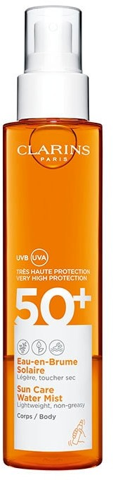 Clarins Water Mist UVA/UVB SPF 50 Olejek do opalania 150ml