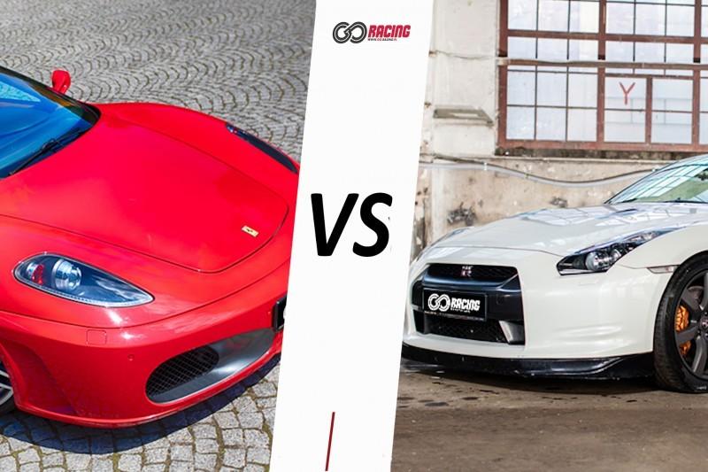 go racing Ferrari F430 vs Nissan GTR : Ilość okrążeń - 8, Tor - Tor Olsztyn, Usiądziesz jako - Kierowca