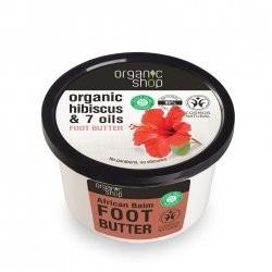 Organic Shop naturalne odżywcze masło do stóp Afrykańskie 250ml