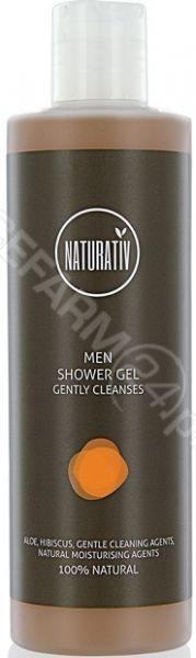 Naturativ Men delikatny żel pod prysznic Vegan Cosmetic 280 ml