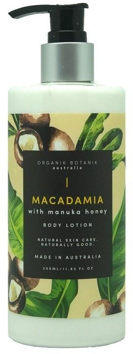 Macadamia Organik Botanik Organik Botanik i Miód Manuka - balsam do ciała 350ml
