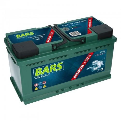 Bars Akumulator Premium 12V 110Ah 1000A (EN) P+