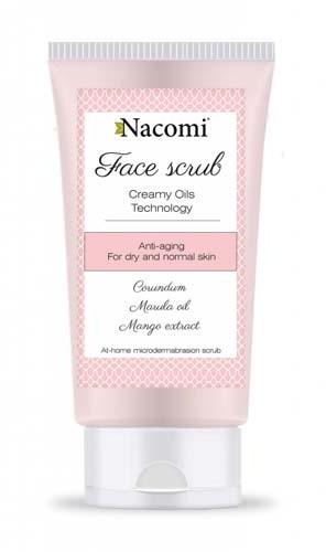Nacomi peeling do twarzy do skóry suchej lub normalnej