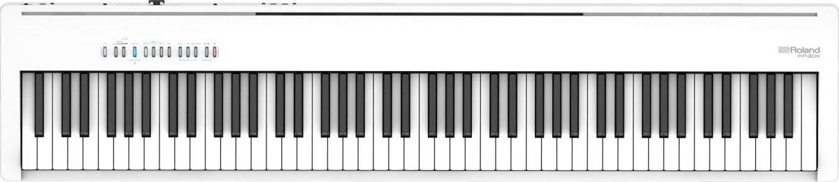 Roland FP-30X WH stage pianino cyfrowe białe