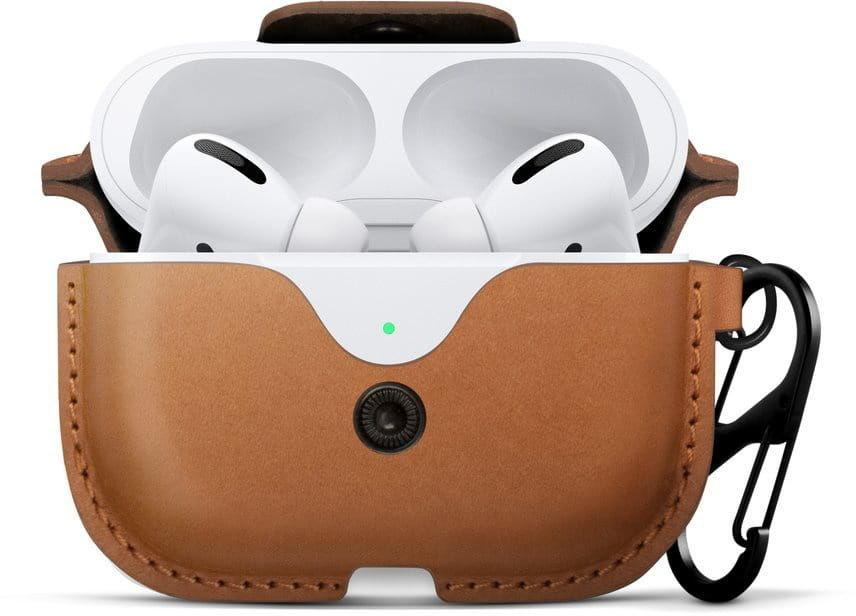 Twelve South Etui AirSnap Pro Apple Airpods Pro (brązowe) TSH027BR