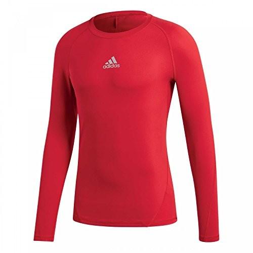 Adidas Alpha Skin Sport Training Shirt męski, czerwony, XL - 58 B0793JPX86