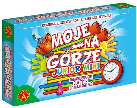 Alexander Moje na górze Junior Mini