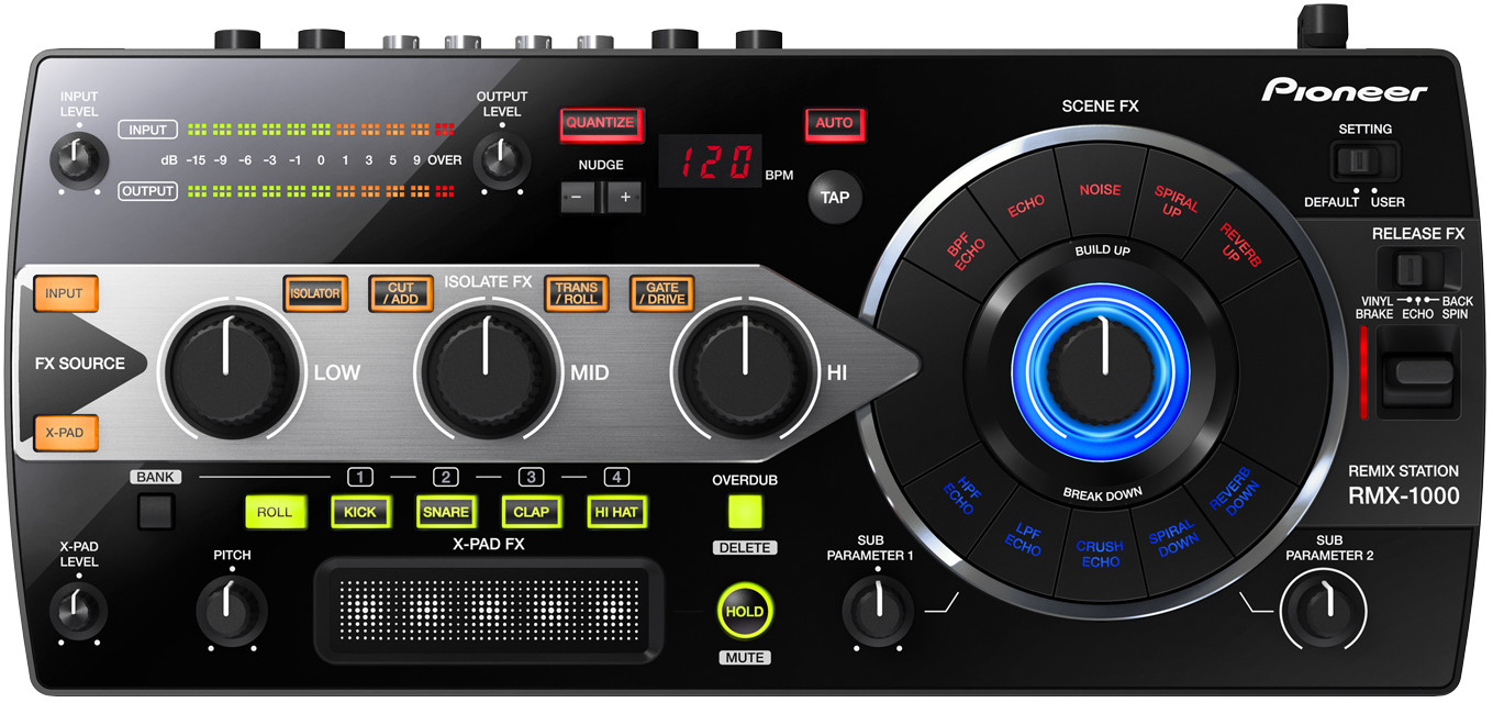 Pioneer RMX-1000 - mikser DJ