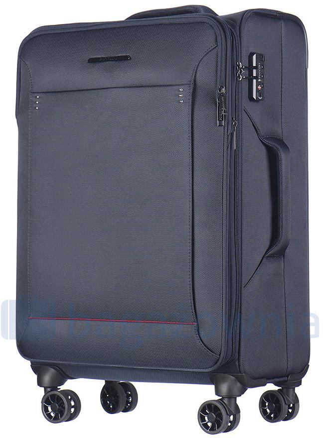 8ebd9ceb4f60d Puccini Bardzo duża walizka OSLO EM50530A 7 Granatowa - granatowy EM50530A 7