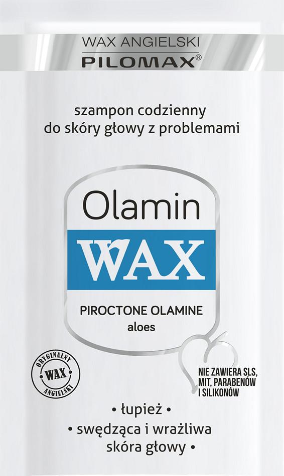 Wax Angielski Pilomax OLAMIN SZAMPON DO WŁOSÓW Z ŁUPIEŻEM 10 ML