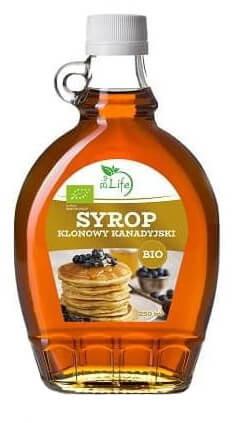 BioLife Syrop Klonowy A Kanadyjski 330g - BioLife ZLFSYROPKLONO