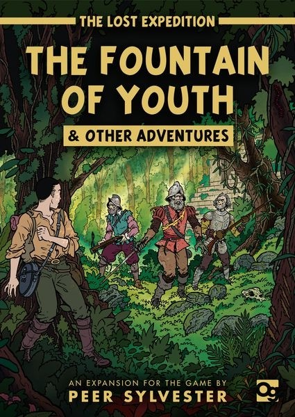 Osprey Games The Lost Expedition: The Fountain of Youth & Other Adventures - EN