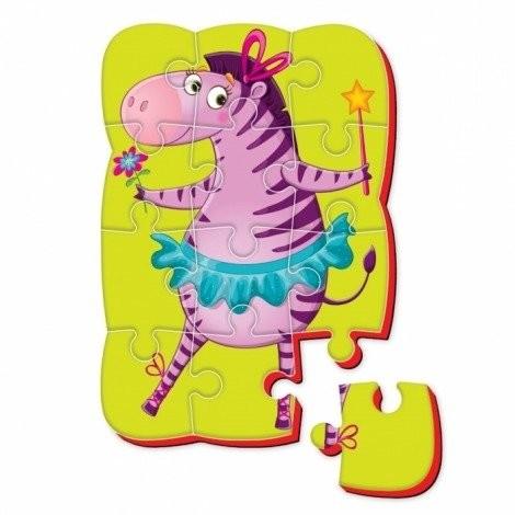 Zebra Roter Kafer Puzzle ROTER KAFER Magnetyczne piankowe Czarodziejka