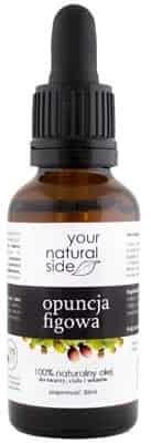 Your Natural Side Olej z Opuncji Figowej nierafinowany Organic 10ml pipeta