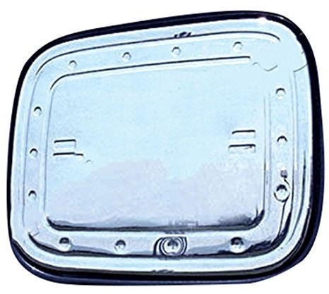 akhan-tuning akhan ks1083stal nierdzewna pokrywa na zbiornik okładka, chromowana styling KS1083