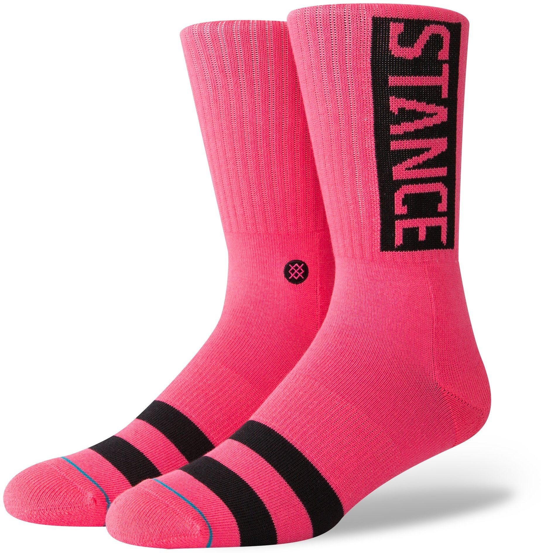 STANCE skarpetki STANCE OG Neon Pink