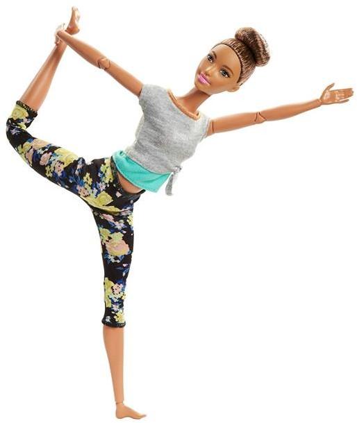 Mattel Barbie Made To Move Kwiecista Lalka Brunetka FTG80 FTG82