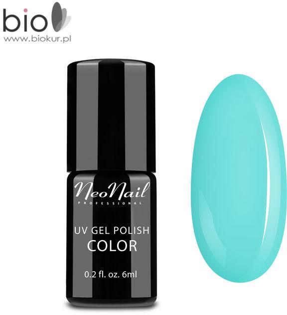 Neonail Lakier Hybrydowy UV NeoNail Light Aquamarine 6 ml 4930-1