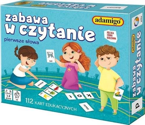 Zabawa w czytanie karty 5902410007523