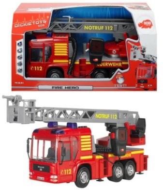 Dickie Toys Straż Pożarna Fire Hero 43 cm