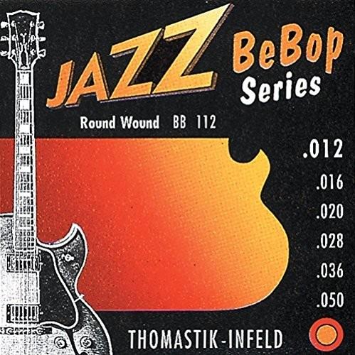 Thomastik pojedynczy sznurek G .021 nikiel, sztućce JS21 do gitary elektrycznej jazzowej Swing zestaw JS113 676763