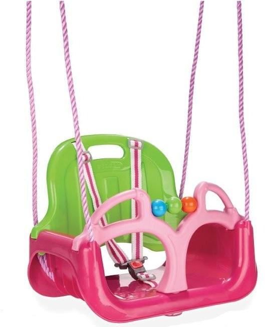 Swing WOOPIE Huśtawka 3w1 Różowa 28583