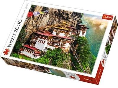 Trefl Puzzle Tygrysie Gniazdo Bhutan 2000