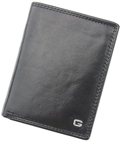 Pellucci Portfel męski skórzany N4-CV RFID Czarny - czarny N4-CV RFID czarny-0