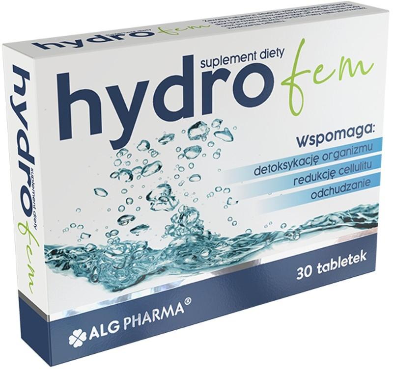 Hydrofem, 30 tabletek powlekanych, Alg Pharma 3539421