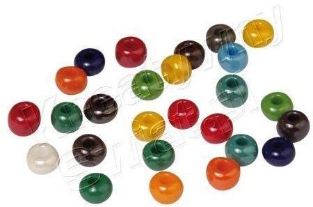 Koraliki szklane, mix kolorów, 6 mm [14-185-49] 14-185-49