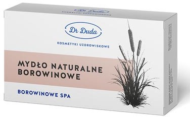 Dr Duda Mydło Naturalne Borowinowe 200g