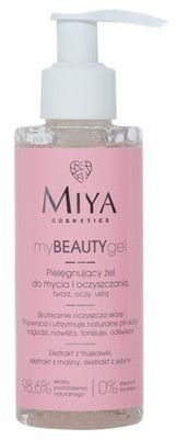 MIYA COSMETICS Pielęgnujący żel do mycia i oczyszczania - myBEAUTYgel 140ml Miya Cosmetics