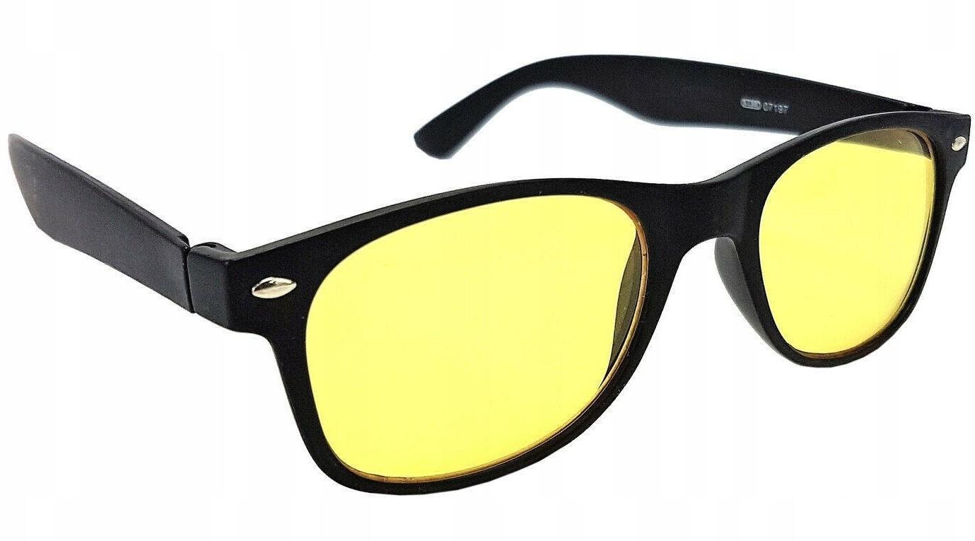 Dunlop Okulary kierowców rozjaśniające jazdy nocą