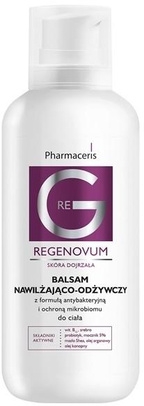 Dr Irena Eris Pharmaceris G - REGENOVUM Balsam nawilżająco-odżywczy z formułą antybakteryjną i ochroną mikrobiomu do ciała 400ml