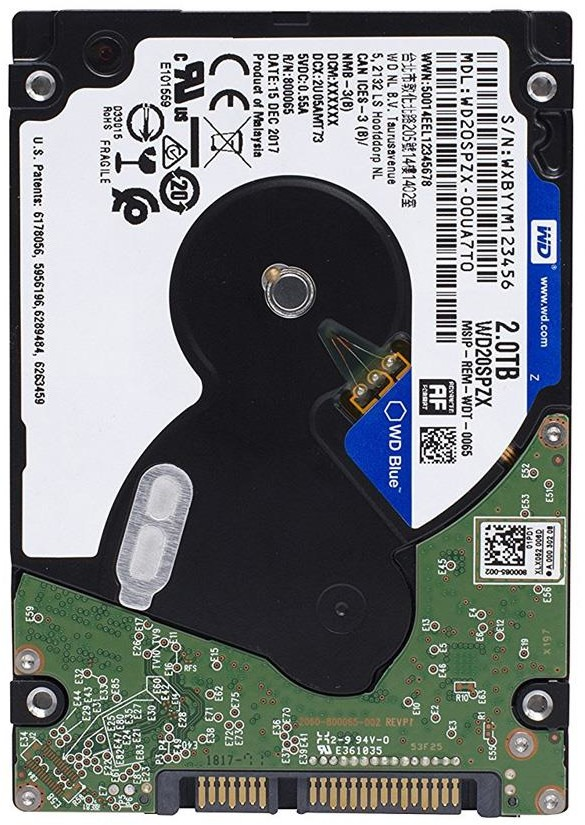 Western Digital BLUE 2TB WD20SPZX